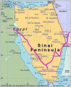 Дахаб- Синайский полуостров
